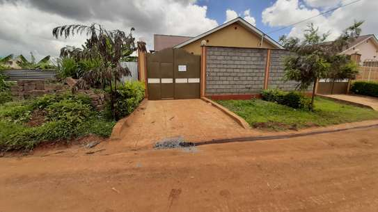3 bedroom bungalow with own compound