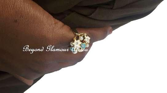Women statement ring wedding bridal jewelry ring image 3