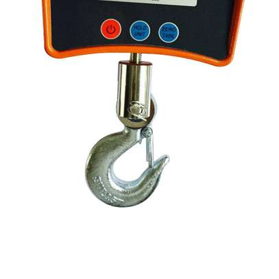 Digital Hanging Scale, Heavy Duty Industrial Crane Scale Hook Hanging Weight 1100lb / 500kg image 1