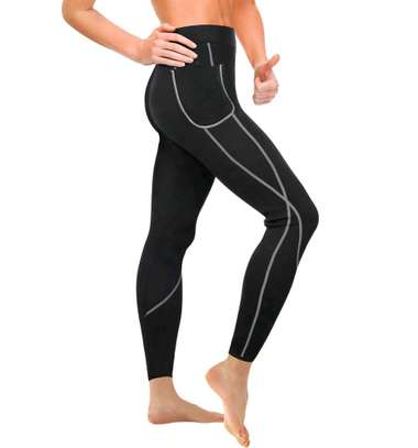 Women sauna slimming pants image 1
