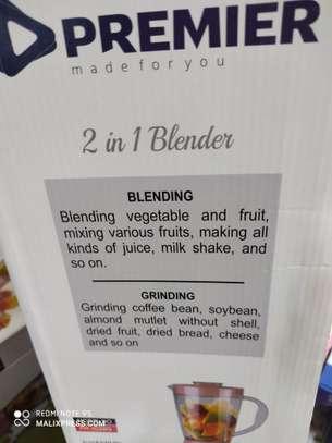 2 in 1 premier blender multipurpose blender image 2
