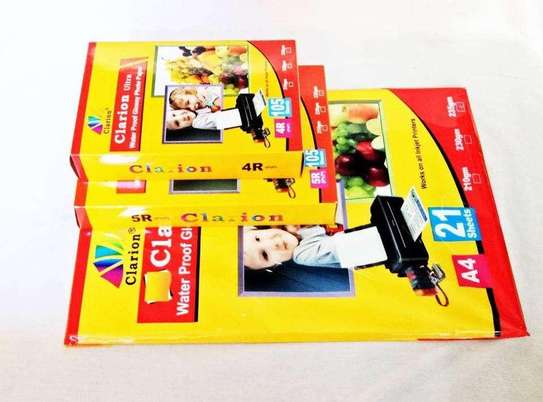 Clarion Glossy Photo Papers A 4 / 4 R size image 2