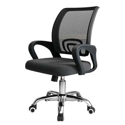 Office desk chair with adjustable height F21E image 1