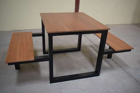 Restaurant bench table for sale! image 1