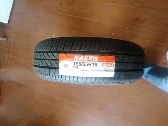 Maxxis tyres 195/65R15 Ma307 image 1