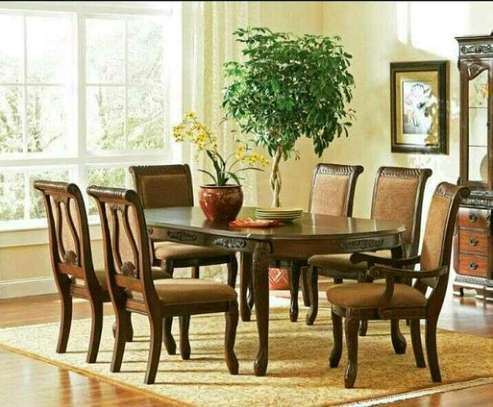 6-seater Arntic dining table image 1