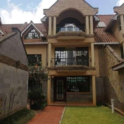 Magnificent townhouse to let in Lavington. It's a 6 bedroom all ensuite image 1