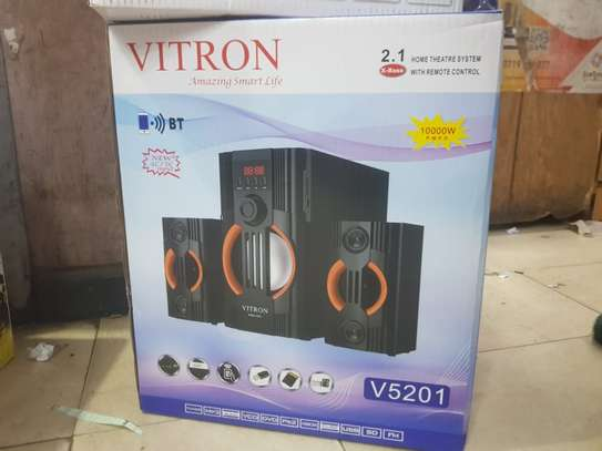 Vitron v5201 2.1ch x-bass ac/dc 10000w image 1