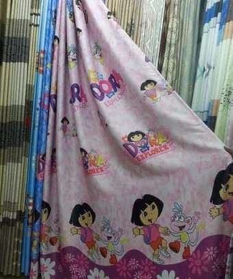 Kids Cartoon Curtains image 1