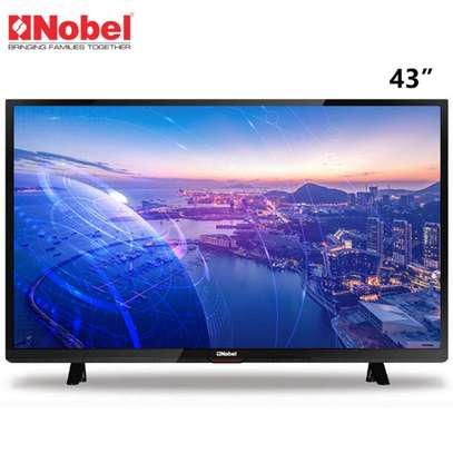 "43"" NOBEL SMART ANDROID HD FRAMELESS TV"