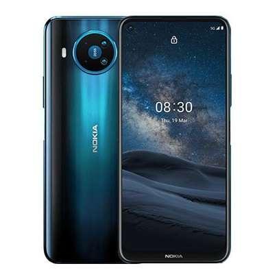 Nokia 8.3 5G Smartphone: 6.81″ inch – 6GB RAM – 64GB ROM – 64MP+12MP+2MP+2MP Quad Camera – 4G – 4500 mAh Battery image 1
