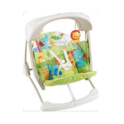 Yayaya 2 IN 1 animal swing/ rainforest rocker image 2