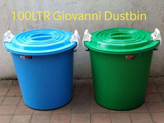 1000ltrs plastic giovanni dustbin image 1