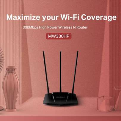 Mercusys 300Mbps High Power Wireless Router( WALL BREAKER) image 4