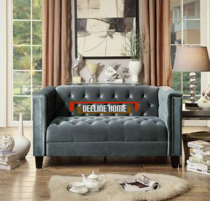 Tufted Modern 2 Seater Sofa