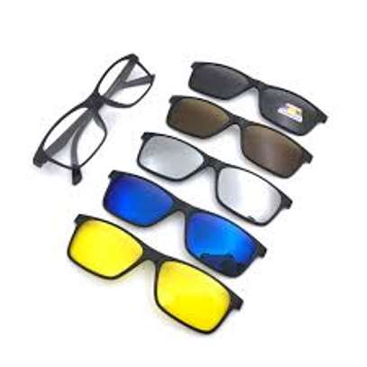 5 in 1 magic vision driving & outdoor glasses