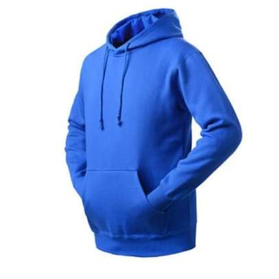 High Quality Warm Fleece Solid Color Hoodies