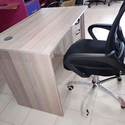 Home study desk with adjustable study chair image 1