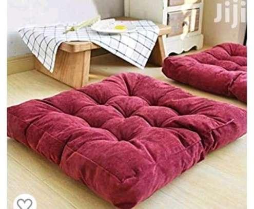 Square floor pillow image 1