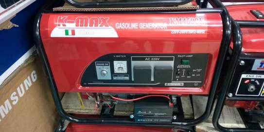 K-max Italy Gasoline keystart Generator 5kva; KM4600E image 1