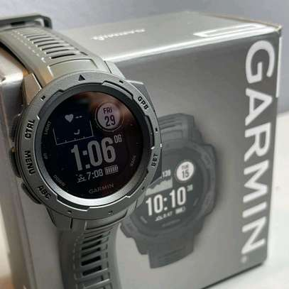 Garmin Instinct Outdoor GPS Watch brand new and sealed in a shop image 1