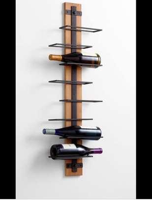DESIGNER METALLIC WINE RACK image 2