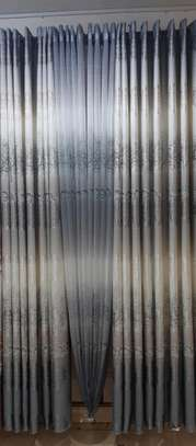Grey curtain image 1