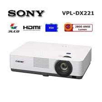 Sony VPL-DX221(VPLDX221) 2,800 lumens XGA desktop projector image 1