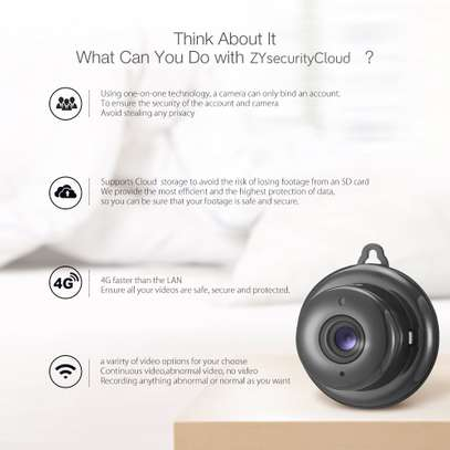 Wireless Indoor WiFi CCTV Camera-IP Camera 1080P HD image 7