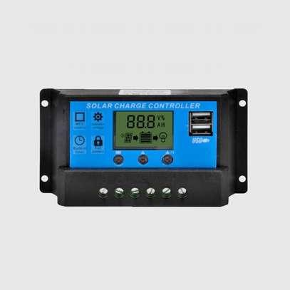 150w SolarMax Solar panel + 120AH Battery + 300w inverter + 20 Amp solar controller + 4 Bulbs. image 2
