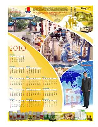Calendar Design and Printing image 4
