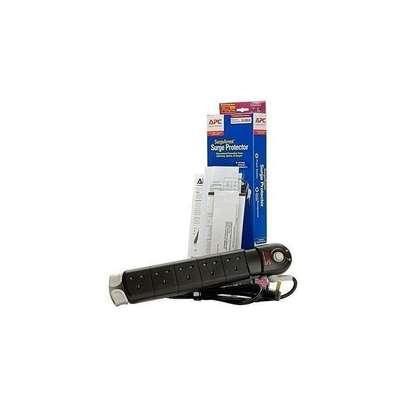 Apc Surge Protector power Extension Black image 2