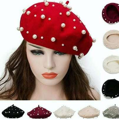 Beaded berets image 1
