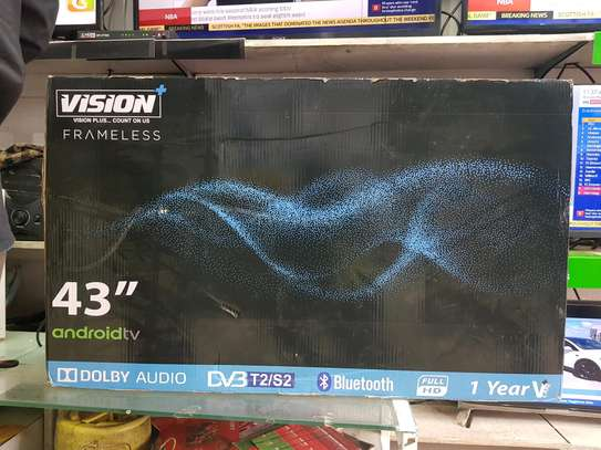 Vision+ android tv 43 inches +bracket image 2
