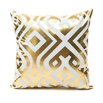 GOLD THROWPILLOWS AND CASES image 2