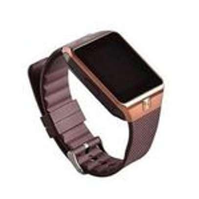 smart Bluetooth Smart Watch -128MB ROM -64MB RAM Camera - Gold image 2