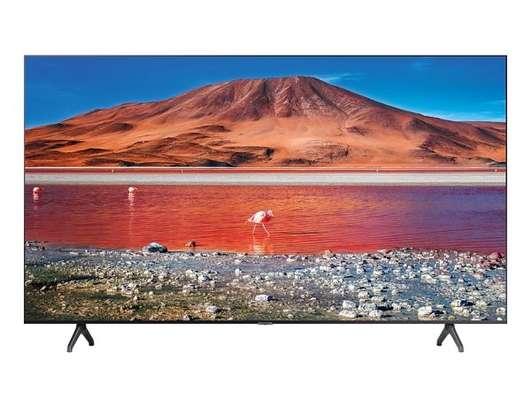 Hisense 55 inches UHD 4K HDR Smart Andriod Frameless TV 55A72KEN Black 55 inch image 1