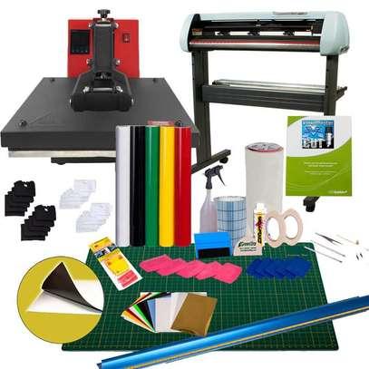 vinyl cutter heat press Business Starter Package image 1