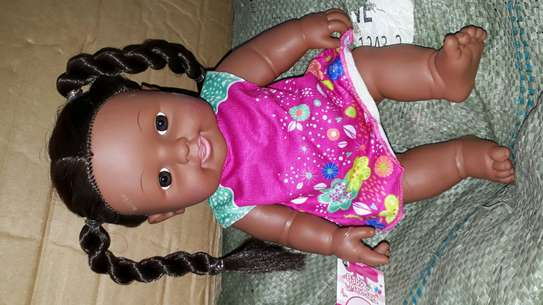 Africa kids doll/baby doll/baby/artificial baby image 3
