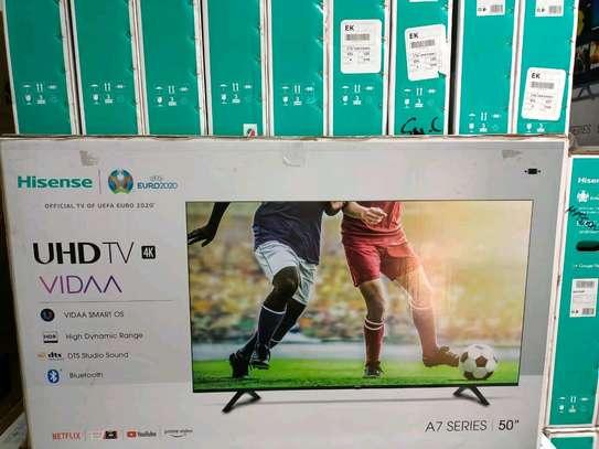 Hisense 50 4K HDR Ultra HD Smart TV -Frameless,2020 image 1