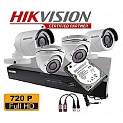 HikVision Security CCTV 4 Cameras Full  Kit image 2