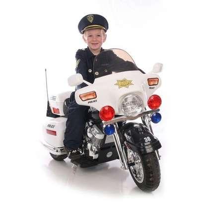 MEDIUM size Electric Bike - Kid's Motorcycle- White( Assembled) image 2