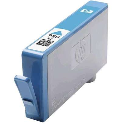 920XL cyan inkjet cartridge CD972AA image 1