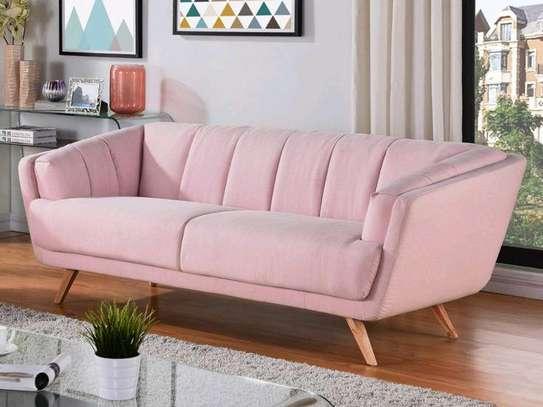 Three seater sofas/pink sofas