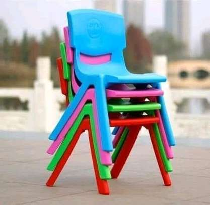 Kindergarten Plastic Chairs image 1