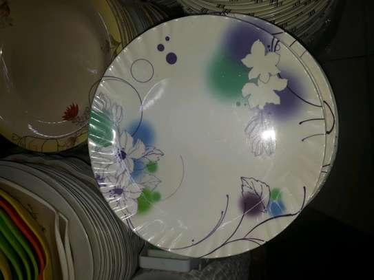 12pc Melamine dinner plates/Extra heavy melamine plate/12pc Plates image 6