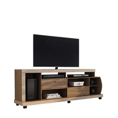TV Stand Rack With Sliding Doors (Colibri INGA ) - 65 Inch TV Space