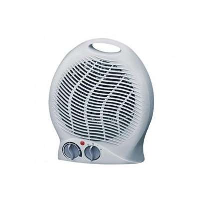ARMCO AFH-1000A - 2000W Upright Fan Heater - White image 1