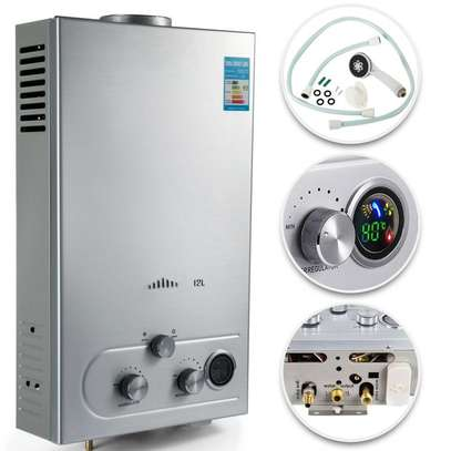 Hot Shower Tankless Gas Instant Water Heater image 4