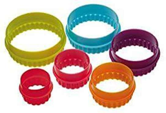 Plastic Dough Cookie Cutter, Assorted - 1 Set image 6